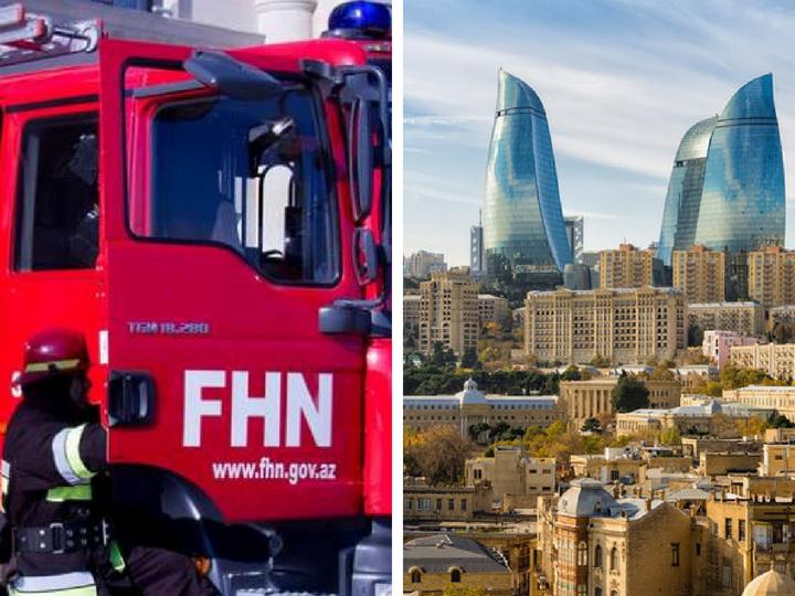 Как спасали «пострадавших при пожаре» в отеле Fairmont Baku – ФОТО - ОБНОВЛЕНО