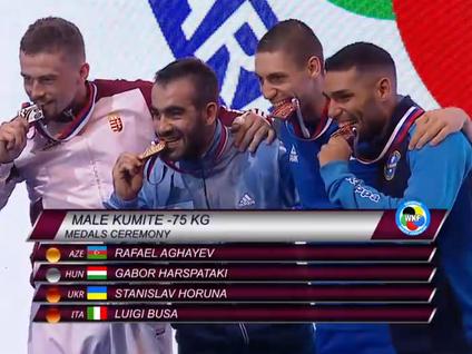 Олимпийские надежды азербайджанского каратэ