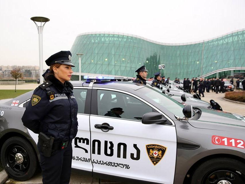 В Грузии патрульная полиция оштрафовала патрульную полицию