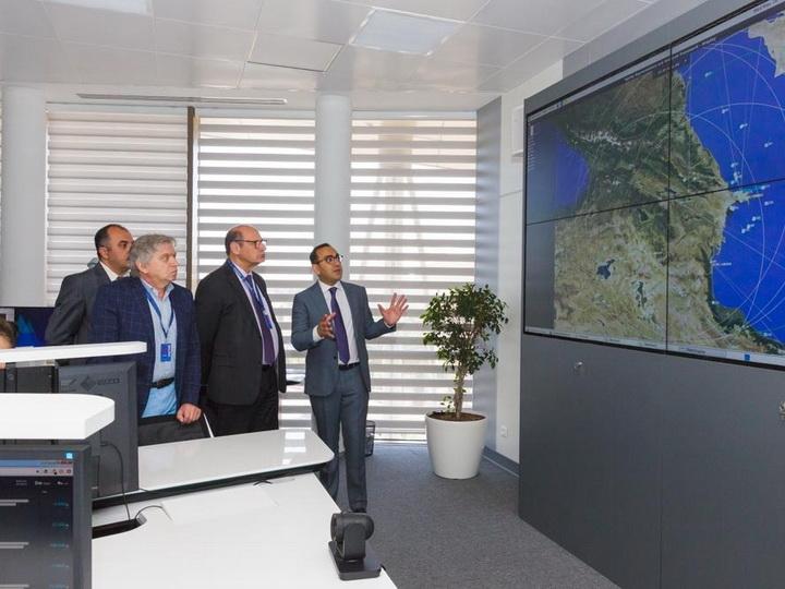 Делегация Центра управления воздушным пространством Европы ознакомилась с достижениями гражданской авиации Азербайджана – ФОТО