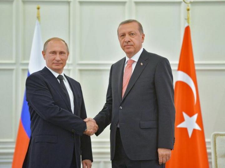 Путин и Эрдоган обсудили ситуацию в секторе Газа