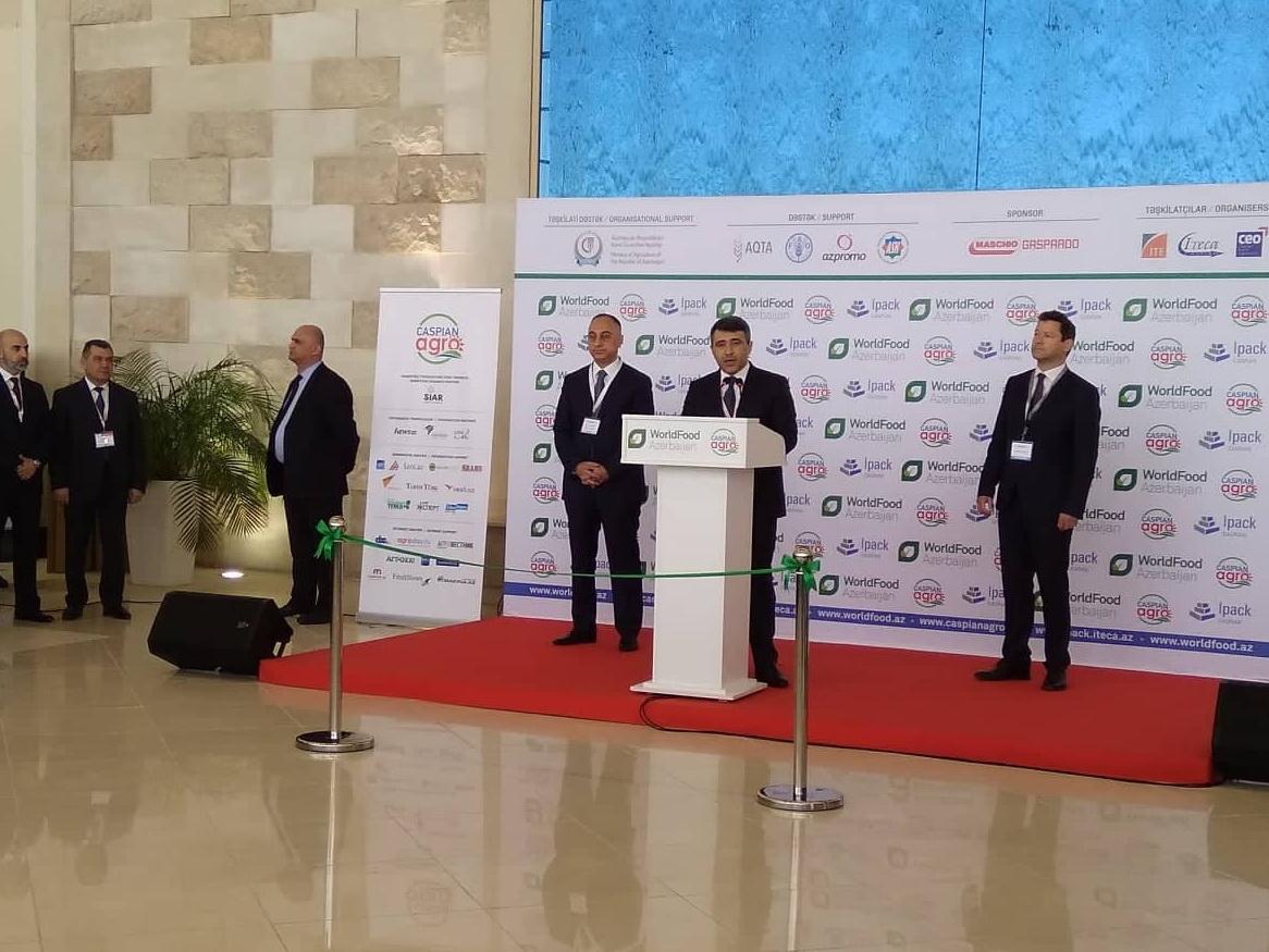 В Баку открылась международная выставка «Пищевая промышленность»