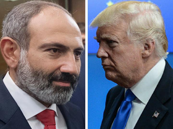 Трамп написал Пашиняну о Карабахе – ФОТО