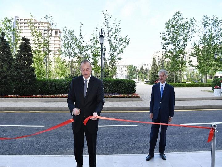 Bakıda YAP-ın yeni inzibati binasının açılışı olub - FOTO - YENİLƏNİB