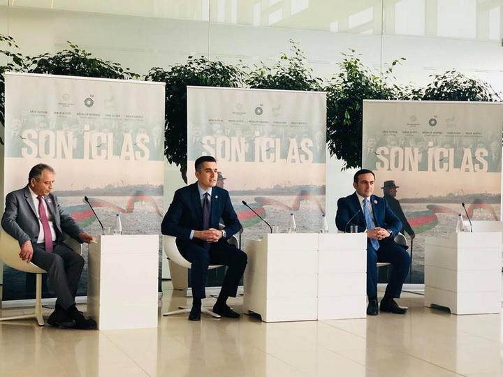 Baku Media Center представляет фильм «Son iclas», посвященный 100летию АДР – ФОТО – ВИДЕО
