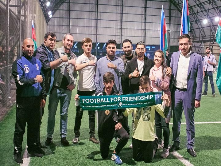 """MFL-in """"Dostluq üçün futbol"""" proqramında iştirak edəcək səfirinin təqdimatı keçirildi – FOTO"""