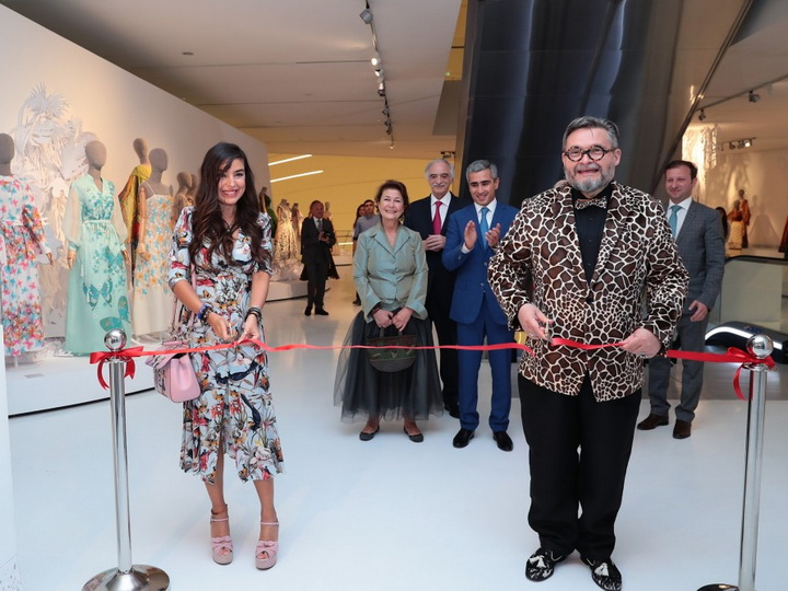 Лейла Алиева приняла участие в церемонии открытия выставки «Заповедник моды» - ФОТО
