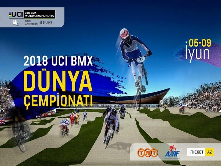 Bakıda BMX üzrə dünya çempionatının açılış mərasimi olub