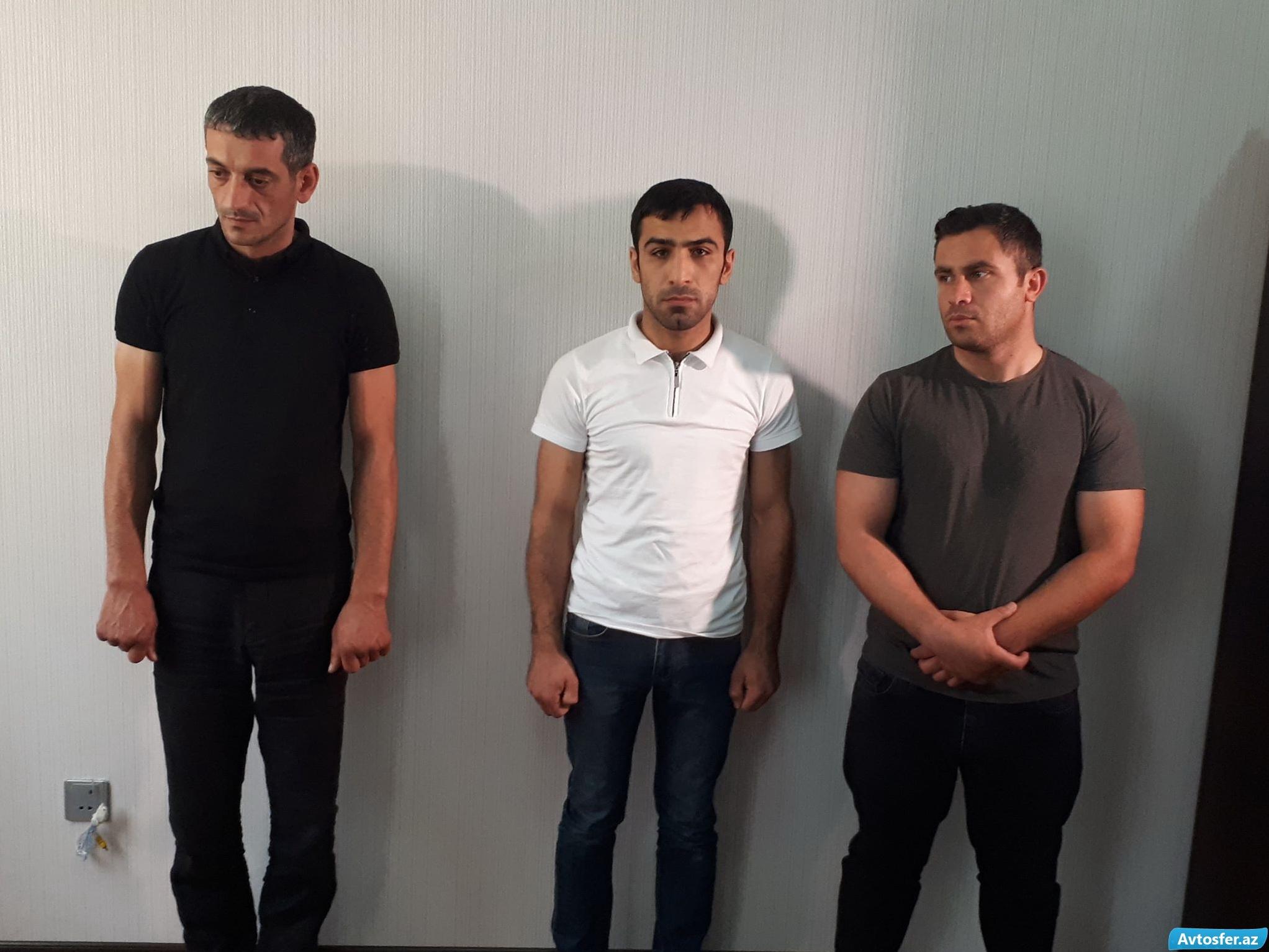В Баку арестованы автохулиганы – ФОТО