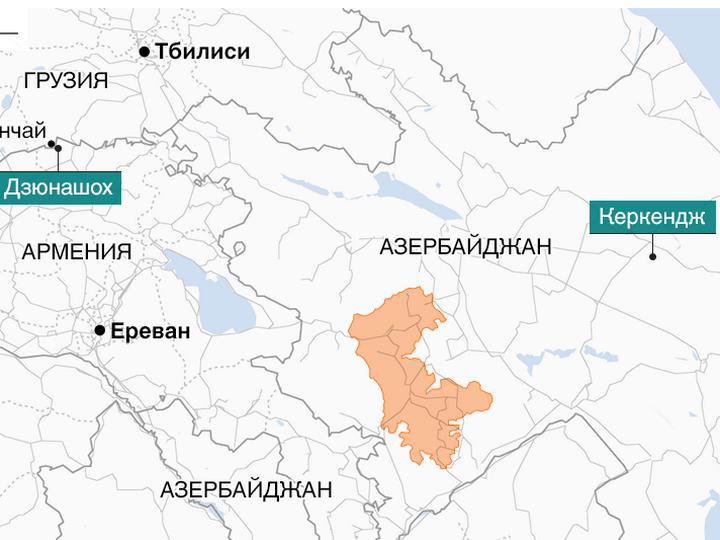 Би-би-си: Как из-за карабахского конфликта две деревни поменялись местами – ФОТО – ВИДЕО