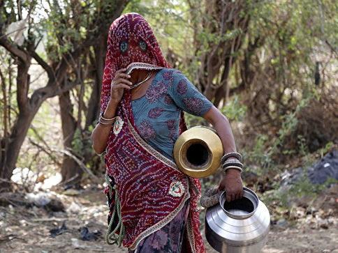 В Индии заявили о приближении экологической катастрофы из-за нехватки воды