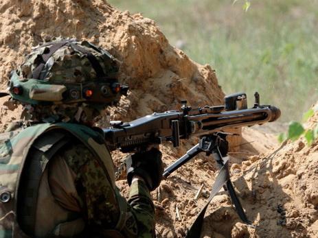 Армянские вооруженные силы в течение суток нарушили режим прекращения огня 94 раза