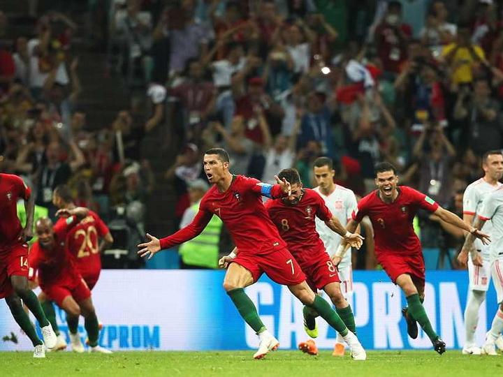 Сборная Португалии сыграла вничью с Испанией, Роналду оформил хет-трик - ФОТО - ВИДЕО
