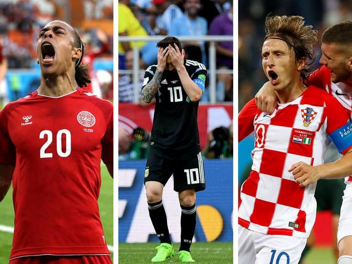 ЧМ-2018: Аргентина сыграла вничью с Исландией, Дания победила Перу, Хорватия обыграла Нигерию – ФОТО – ВИДЕО