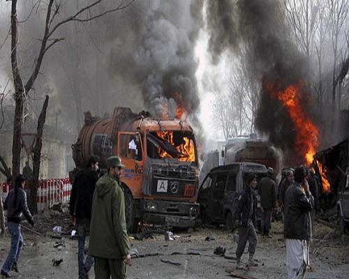Əfqanıstanda partlayışda 35 nəfər ölüb, yaralılar var