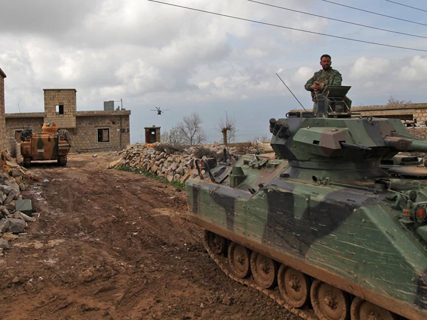 Турецкие военные вошли в Манбидж