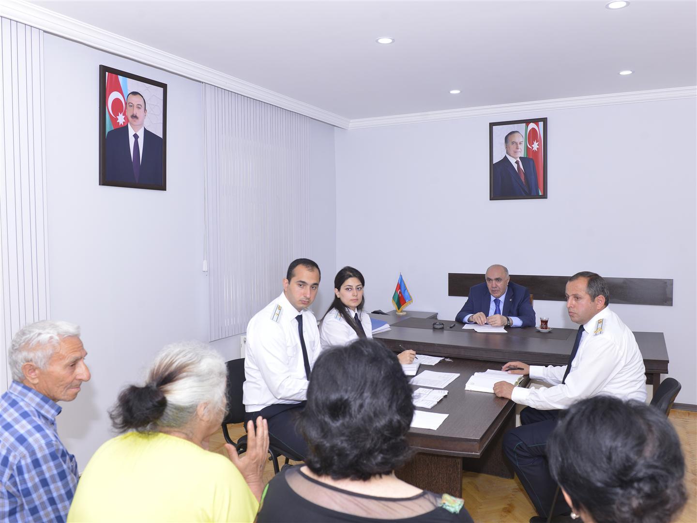 Закир Гаралов принял граждан в Агстафе