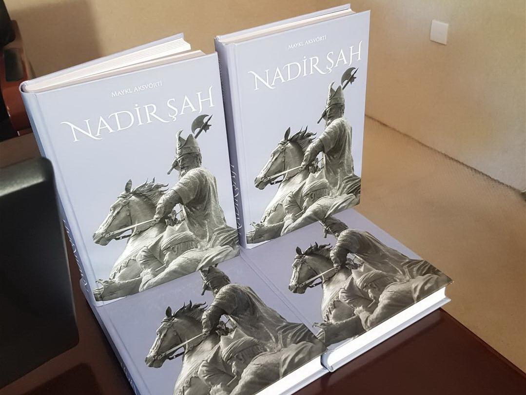 Презентована книга английского автора «Надир шах» с предисловием Рамиза Мехтиева - ФОТО