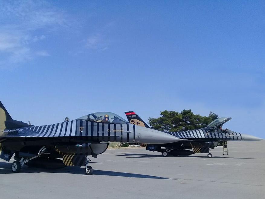 Турецкие самолеты прибыли в Азербайджан - ФОТО