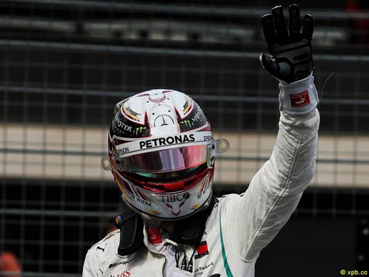 «Мерседес» выиграл квалификацию Гран-при Франции