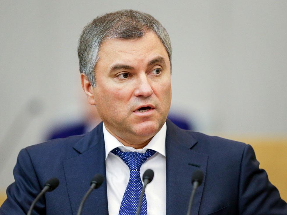 Спикер Госдумы РФ: Азербайджан всегда занимал правильную и конструктивную позицию по Нагорному Карабаху
