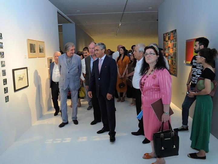 В Центре Гейдара Алиева открылась выставка грузинских художников - ФОТО