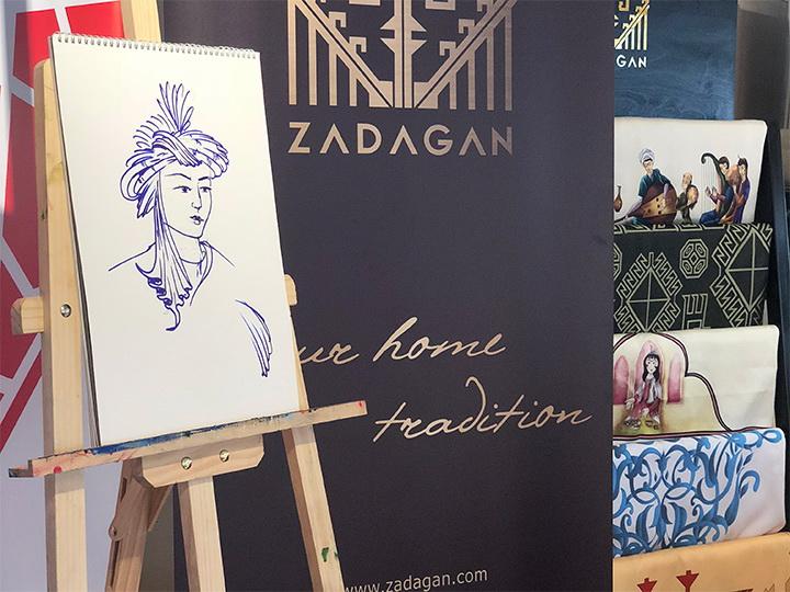 ZADAGAN: Возрождение техники традиционной миниатюрной живописи – ФОТО