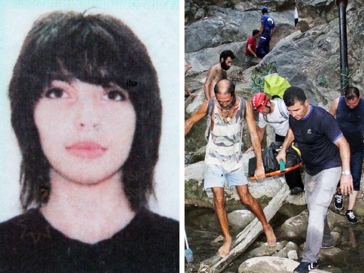 Азербайджанская туристка погибла в Турции, упав с водопада - ФОТО