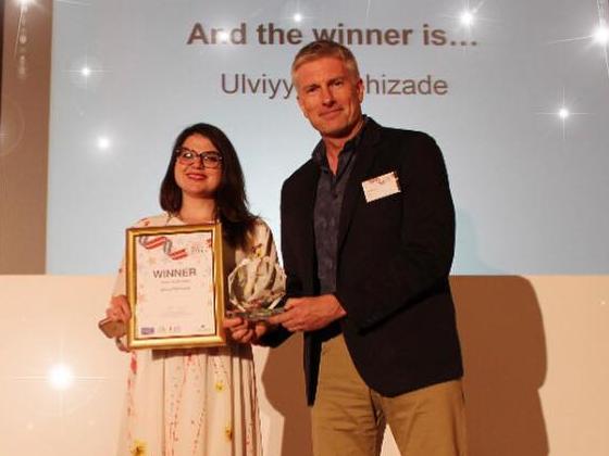 Азербайджанка стала обладательницей престижной британской премии за вклад в развитие – ФОТО