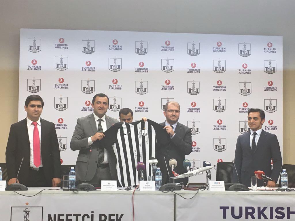 Президент «Нефтчи» о сотрудничестве с «Turkish Airlines»: «Нас выбрали, потому что мы являемся самым титулованным клубом Азербайджана»
