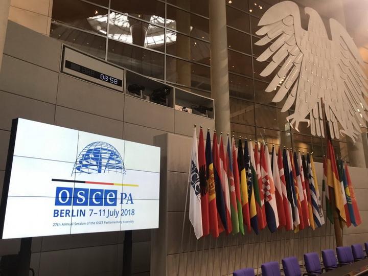 На сессии ПА ОБСЕ отвергнута армянская поправка к проекту резолюции