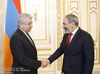 Никол Пашинян: «Армения готова к тесному сотрудничеству с дружественным Ираном»