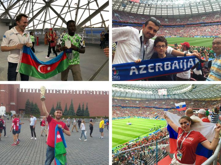 Национальный колорит: азербайджанские болельщики на чемпионате мира по футболу-2018 – ФОТО – ВИДЕО