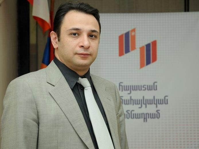 Глава всеармянского «благотворительного» фонда подал в отставку