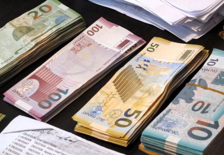Официальный курс маната ко всем валютам на 10 июля