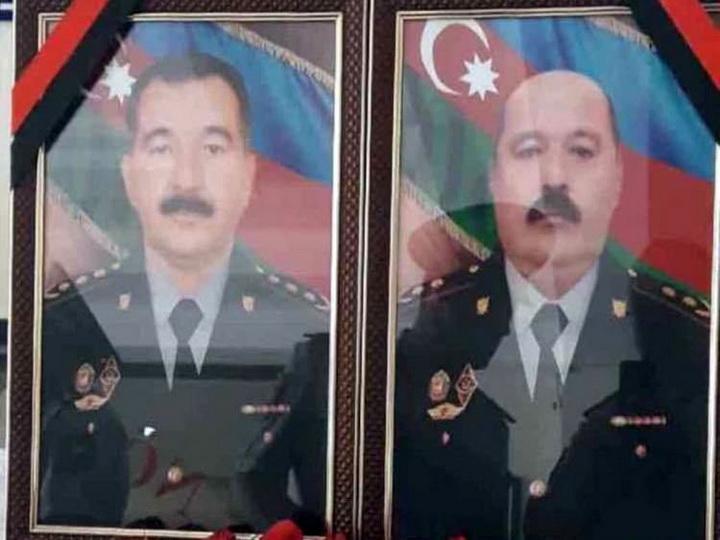 Похоронены офицеры полиции, погибшие при пресечении беспорядков в Гяндже – ФОТО - ОБНОВЛЕНО