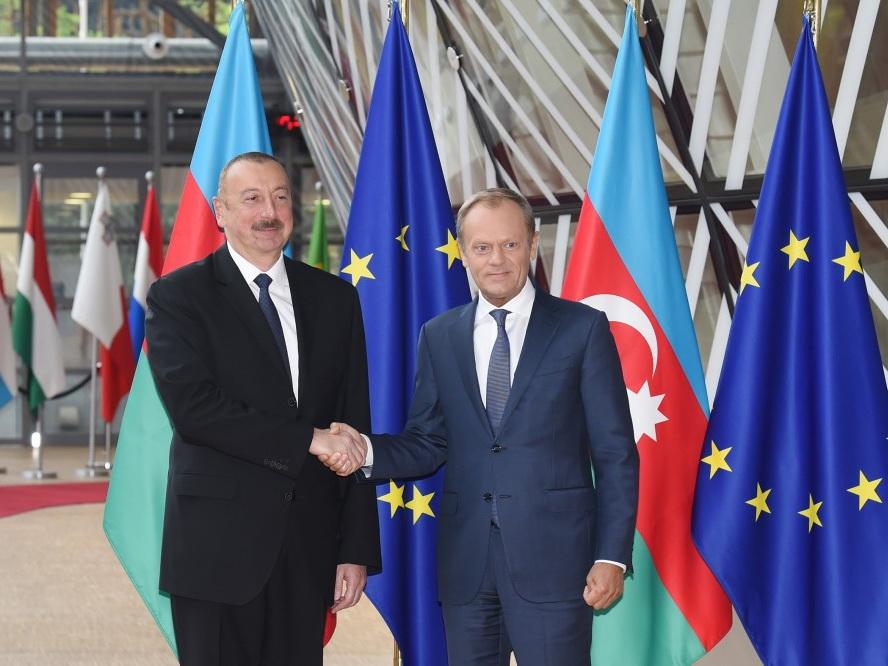 Глава Евросовета о позитивной встрече с Президентом Алиевым – ФОТО