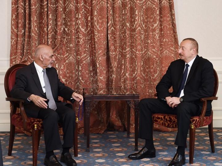 В Брюсселе состоялась встреча президентов Азербайджана и Афганистана – ФОТО