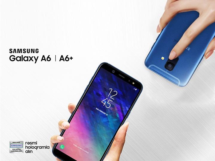 Удобство дизайна новых смартфонов Samsung Galaxy A6|A6+
