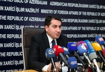 Хикмет Гаджиев: «Мы призываем всемеждународное сообщество оказать давление на Армениюрадиосвобождениянаших соотечественников»