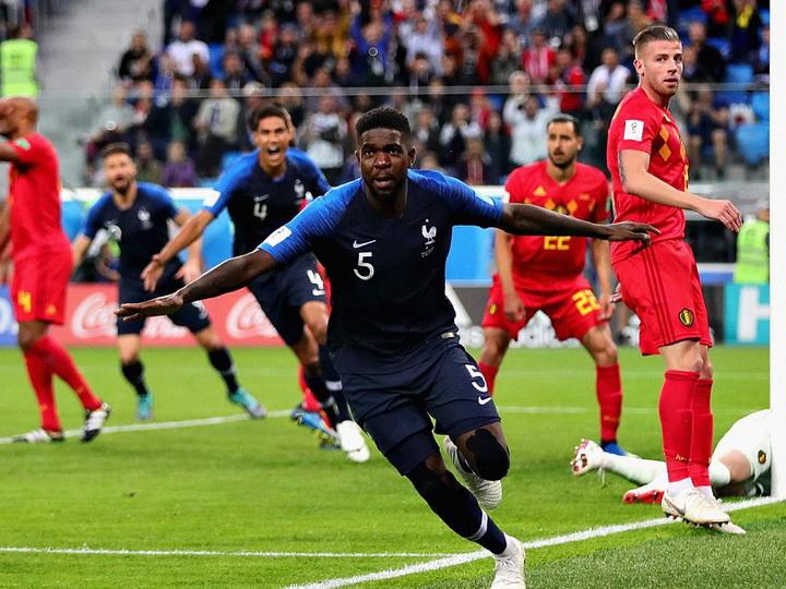 Сборная Франции обыграла Бельгию и вышла в финал ЧМ-2018 - ФОТО - ВИДЕО