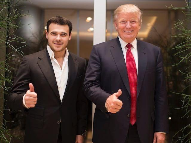 Эмин Агаларов: «Меня, парня из Азербайджана, обвиняют во влиянии на выборы в США…»