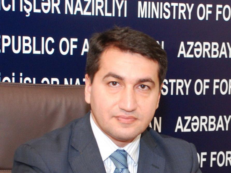 МИД Азербайджана назвал политическим шоу отправку Пашиняном своего сына служить на оккупированные территории