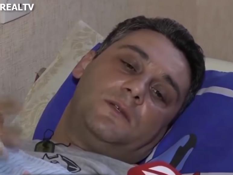 Раненый в Гяндже сотрудник полиции: Мне помогли простые гянджинцы - ВИДЕО