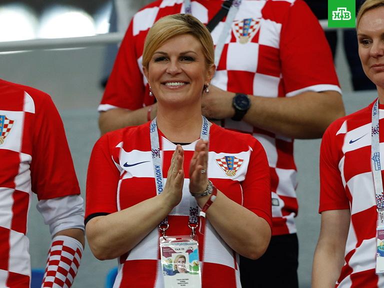 ЧМ-2018: за Хорватию активно болеет самый красивый президент в мире – ФОТО – ВИДЕО