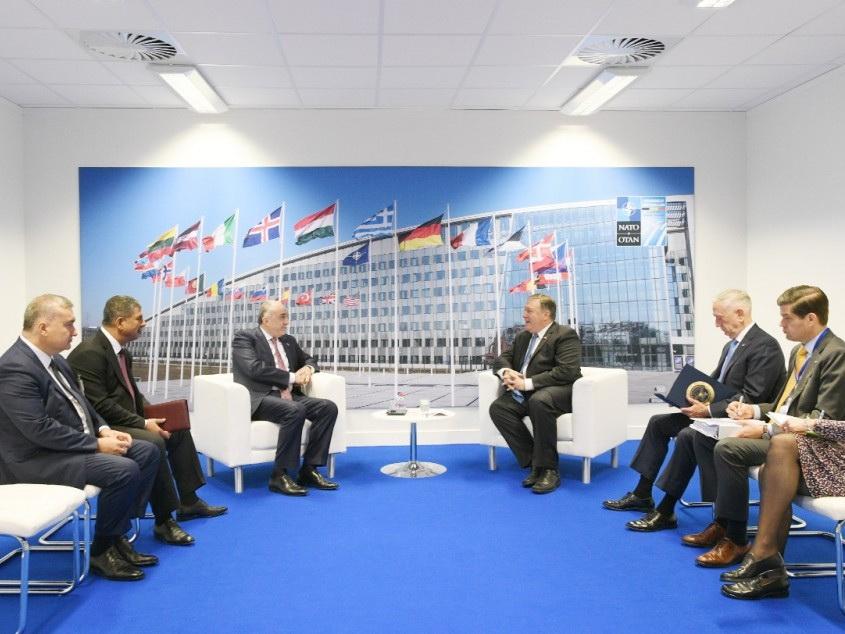 Госсекретарь и министр обороны США встретились с азербайджанскими коллегами