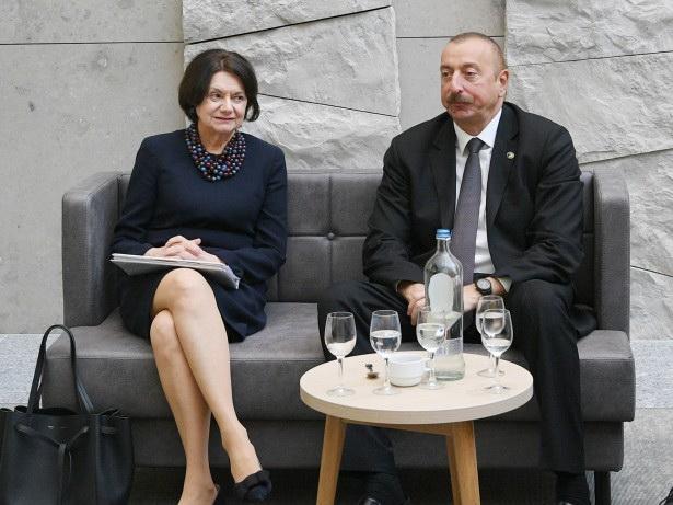 Президент Азербайджана встретился с заместителем генсека ООН