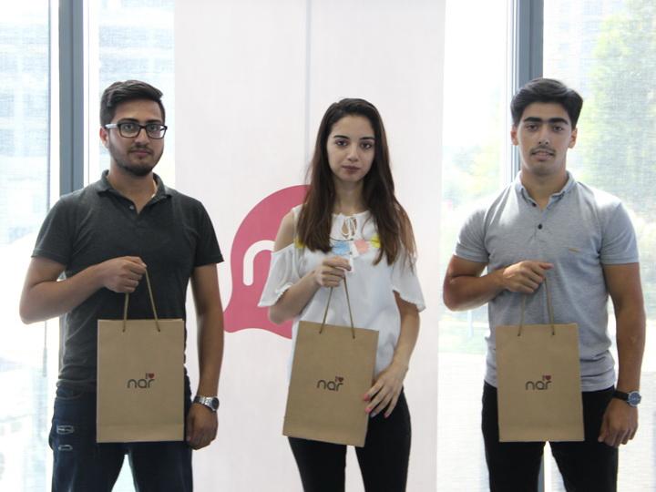 Оператор Nar наградил студентов-отличников Азербайджанского технического университета – ФОТО