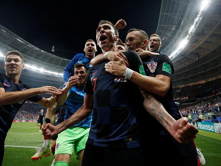 Сборная Хорватии обыграла Англию в дополнительное время и вышла в финал ЧМ-2018 - ФОТО