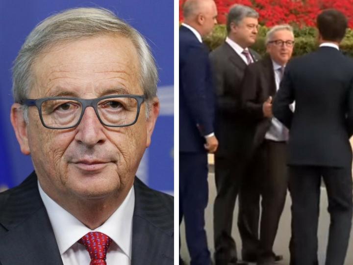 Пьяный президент Еврокомиссии едва держится на ногах и утверждает, что у него радикулит - ВИДЕО
